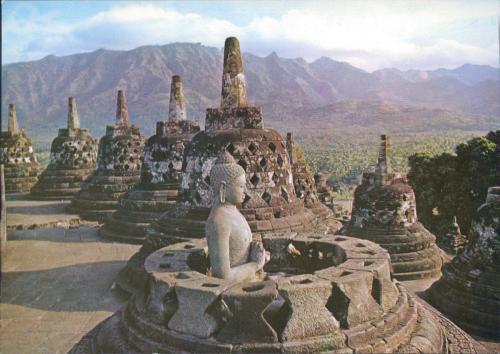 Borobodur Buddhist Temple, 9th c.