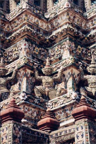 Close up of Wat Arun, Bangkok