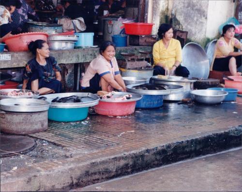 Market, Ho Chi Min City