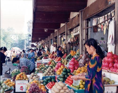 Market Ho Chi Minch City