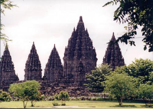 Prabanam Hindu Temple, 8-9th c
