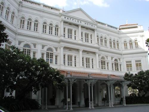 Raffles Hotel, 1887