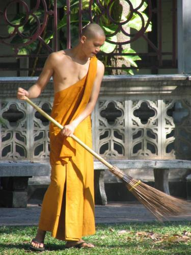 Taking care of the temple