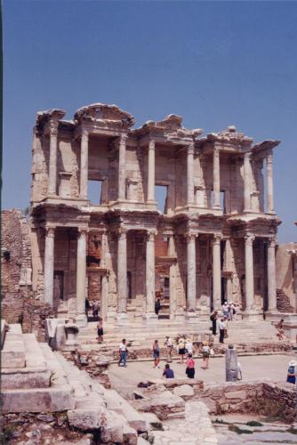 Ephesus-in-Kusadasi-Turkey